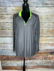 Champion C9 1 4 Zip Pullover shirt top Size XL gray activewear womens $19.00