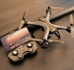 4K HD F5 PRO GPS RC Drone Professional Camera With FPV Quadcopter with BAG $124.00