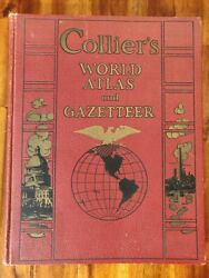 Collier's World Atlas and Gazetteer – 1937 Edition. Hardcover $24.99