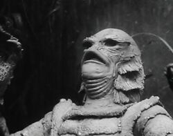 CREATURE FROM THE BLACK LAGOON RICOU BROWNING UNDER WATER CLASSIC 8X10 PHOTO $4.94