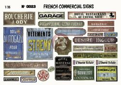 Verlinden 1 35 French Commercial Signs Business Signage WWII Print Diorama 23