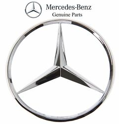 For Mercedes-Benz R129 S210 W163 W202 C E ML SL-Class Trunk Star Emblem Genuine $23.77