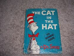 THE CAT IN THE HAT by Dr. Seuss1st Ed1st PrtHCDJChildrensLiteratureFantasy