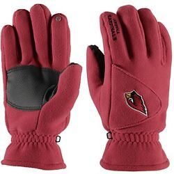 NWT NFL 180s Arizona Cardinals Winter Fleece Gloves Reebok $29.99
