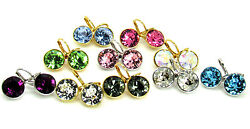 Baby Mini Bella Women Crystal Earrings Made with SWAROVSKI® Crystals