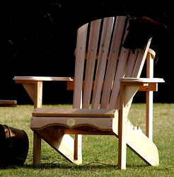 (1) The Bear Chair BC201C Red Cedar Adirondack Patio Porch Chair Kit