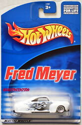 HOT WHEELS FRED MEYER TAIL DRAGGER WHITE $2.80