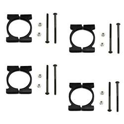 4x CNC Superlight Alloy 20MM Arm Clamp Tube Mount for DIY Quadcopter Multirotor $4.99