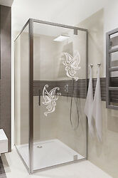 Butterfly art home stickersBathroomDoor glassShower screenvinyl decal GBP 5.99