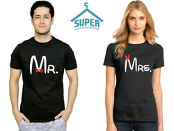 Couple T Shirt Mr and Mrs Couple Shirt Mr and Mrs Tee $19.99
