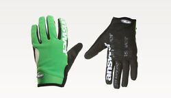 Answer Fall Line XC MTB Full Finger Gloves Green Small S Retail $30 $30.00