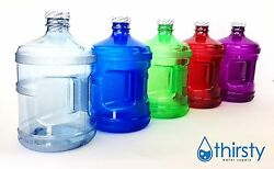 Water Bottle Half Gallon Drinking Gym Canteen Jug Container Colors 64 oz USA New $8.99