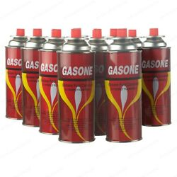 New Butane Fuel Gas Canisters Portable Camp Camping Stove Cartridge 1 24 Cans $48.99