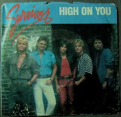 Survivor--High On You; Everlasting (45RPM LP)