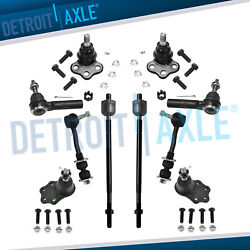 2000 2001 2002 2003 Dodge Durango Dakota 2WD Ball Joint Tierod Sway Bar kit $55.37