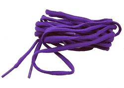 (2 pair Pack) 6mm Oval Style athletic trainer shoelaces shoestrings *NEW*