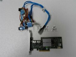 DELL POWEREDGE R410 SERVER PERC H200 PCI 6Gbps RAID KIT FOR CABLED HDD X394K $109.00