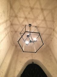 Martin iron Design Hand Made Hanging Pandent Wrought Iron Chandeliers pandent $799.00