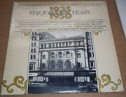 100 Years of Great Artists at the MET The Johnson Years 1935-50 - MET 404 SEALED $24.00