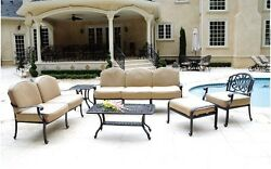 Cast aluminum outdoor Patio Furniture deep seating collection