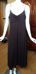 BLACK and Brown T Shirt Sundresses Size Large $19.99