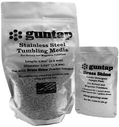 3 Pounds Stainless Steel Tumbling Media Pins 3lb .047quot; x .255quot; Made in USA $25.49