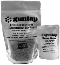 2 Pounds Stainless Steel Tumbling Media Pins 2lb .047quot; x .255quot; Made in USA $17.76