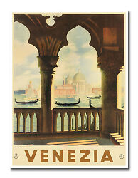 Venice Art Italian Decor Vintage Travel Poster Print 12x16quot; Rare Hot New XR653 $13.99