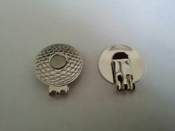 NEW 2 pcs OF GOLF MAGNETIC HAT CLIPS FOR GOLF BALL MARKER $5.99