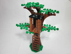 LEGO custom forest tree house with green leaves new parts FREE U.S. Ship $18.99