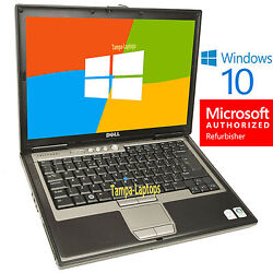 DELL LATITUDE LAPTOP COMPUTER CORE DUO 2 GB WiFi DVD Windows 10 NOTEBOOK PC HD $198.00
