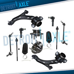 2005-2009 Ford Mustang Front Lower Control Arm Ball Joint TieRod End Kit 12pc