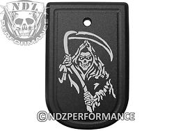Magazine Floor Base Mag Plate for Springfield XD 9mm .40 Grim Reaper 2 $15.95