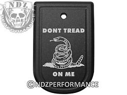 Magazine Floor Base Mag Plate for Springfield XD 9mm .40 Don#x27;t Tread on Me TB $19.99
