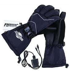 Flambeau Heated Gloves Battery Powered Hand Warmer XL Skiing USB Mens F200-XL