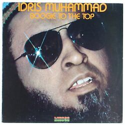 IDRIS MUHAMMAD: Boogie to the Top FUNK Kudu PROMO Vinyl LP