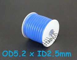 1Roll 16 ft Blue Silicone RC Nitro Fuel Line Tubing D5.2xø2.5 US SELLER SHIP $14.95