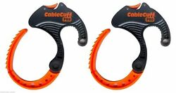 Cable Clamp Cable Cuff PRO 2 Pack Medium Adjustable amp; Reusable CFMP030808 $8.89