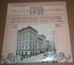 100 Years of Great Artists at the MET The Gatti-Casazza I 1908-21 MET 402 SEALED $24.00