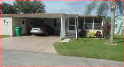 1992 MANUFACTURED 2BR2BA MOBILE HOME CHARLOTTE COUNTY FLORIDA