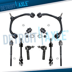 05-11 Dodge Dakota & Raider 10pc Control arm Ball joint Sway bar link Tie rods $84.74