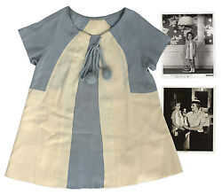 Shirley Temple Worn Silk Dress from Our Little Girl