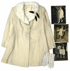 Shirley Temple Owned Coat & Gloves Worn to Snow White