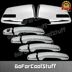 For GMC ACADIA 2010 2015 Chrome Mirror And 4 Doors Handles Covers $48.20