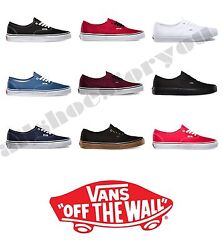 VANS CLASSIC AUTHENTIC NEW Sizes 4.5 12 Canvas Free Fast Shipping $52.85