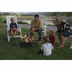 Outdoor Propane Gas Portable Camp Chef Campfire Pit Kit Camping Trip Cooking New