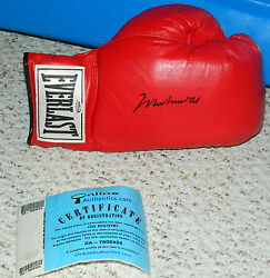 MUHAMMAD ALI SIGNED LEATHER EVERLAST GLOVE CHAMP THE GREATEST ONLINE AUTHENTICS