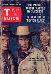 1966 TV Guide December 3-Garry Moore; Rat Patrol;Leigh Taylor-Young Peyton Place