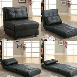 Fold Out Couch Sofa Chaise Lounger Bed Living Room Bedroom Convertible Furniture