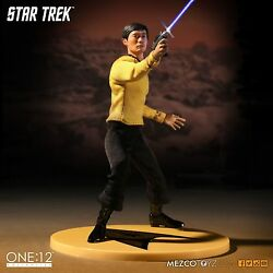 Mezco Toyz One:12 STAR TREK SULU Action Figure $81.95